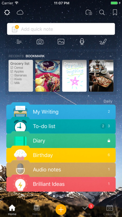 Awesome Note 2 (+To-do/Calendar/Task) Screenshot