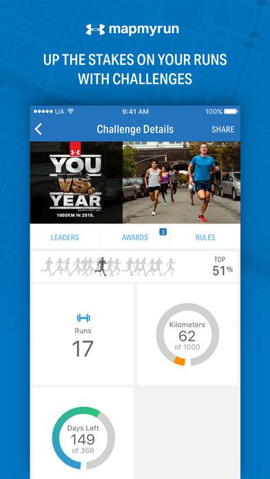 Map My Run - GPS Running & Workout Tracker screenshot