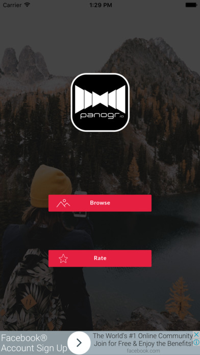 Crop panorama gallery for Instagram - Panogr screenshot 1