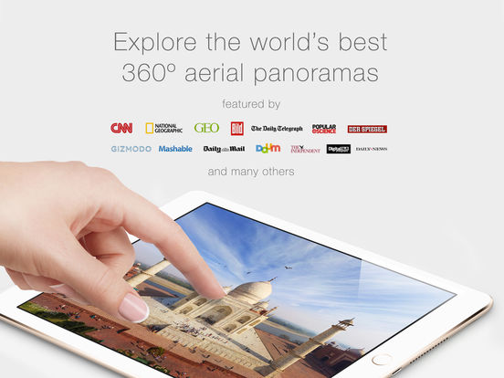 AirPano Travel Book Screenshots