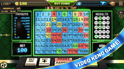 Screenshot 5 Vegas Tower Slots & Video Keno