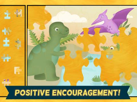 Скачать игру Игры про динозавров для детей: пазл