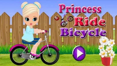 Kids Princes Bicycle Ride screenshot 1