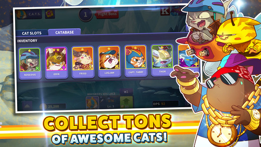 Tap Cats: Idle Warfare Screenshot