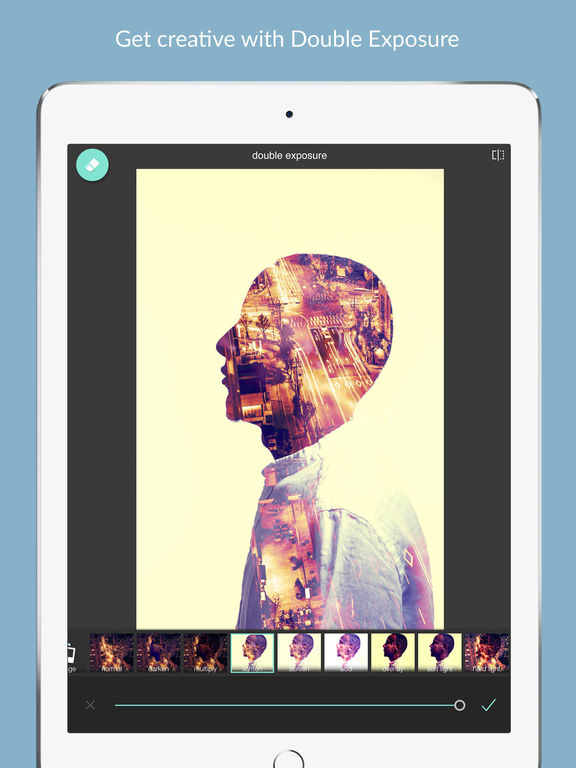 Screenshots of Pixlr – Free Photo Editor for iPad
