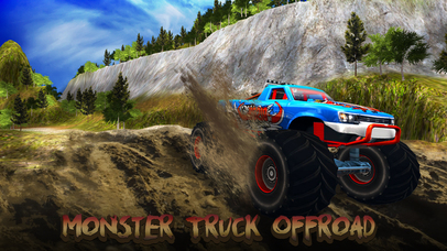 Monster Trucks Offroad Simulator screenshot 1