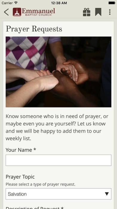 Screenshot #5 for Emmanuel Baptist Church, Coconut Creek FL