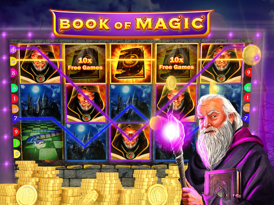 Book of Magic Slot Machine - Try this Free Demo Version