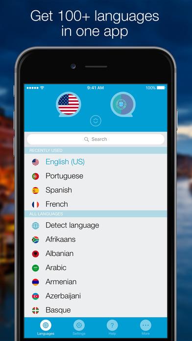 Screenshot #10 for Speak & Translate - Voice and Text Translator