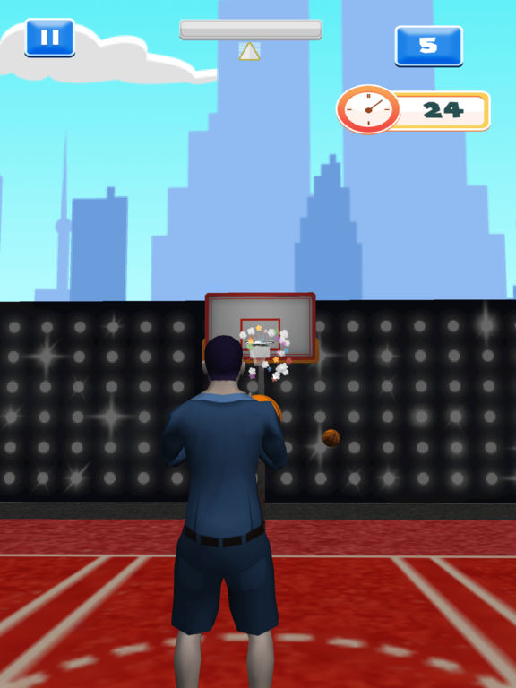 Awesome Celebrity Basketball Showdown screenshot 3
