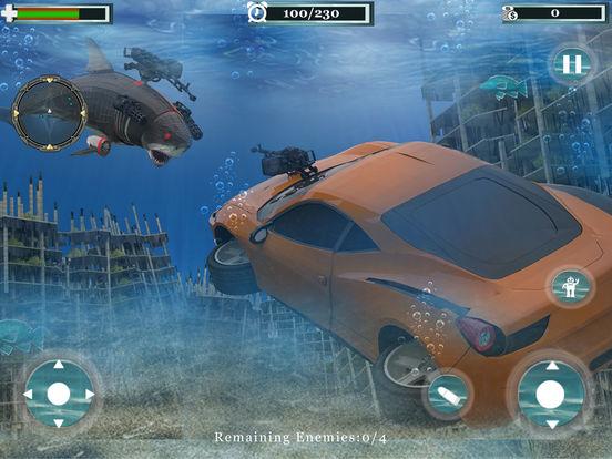 Underwater Robot Car Transformation screenshot 7