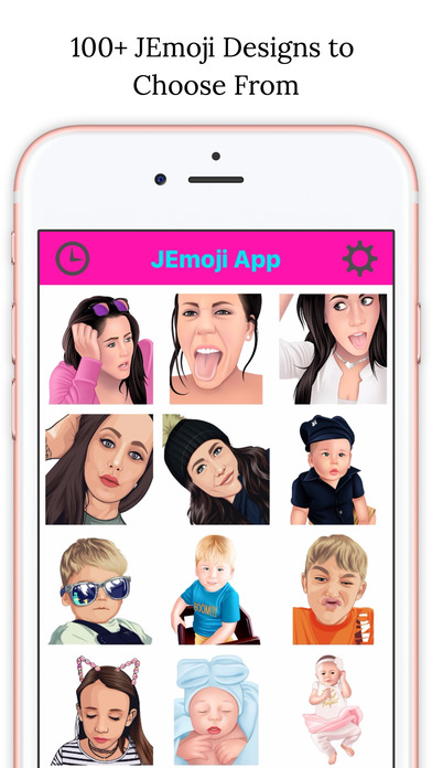 JEmoji App screenshot 1