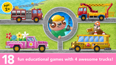 Kids Trucks in Town - Adventure Games for Toddlers screenshot 1