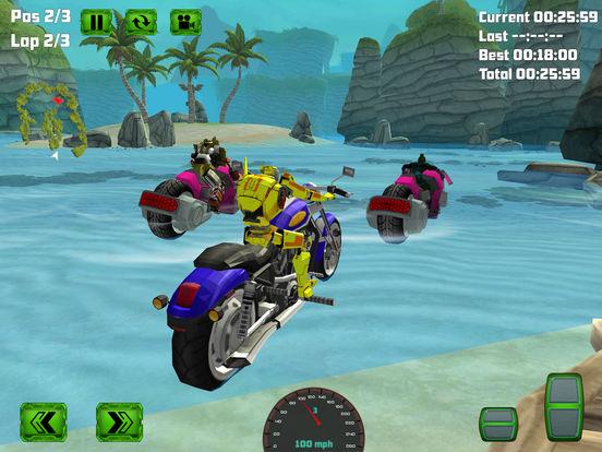 Water Surfing Bike Race screenshot 7