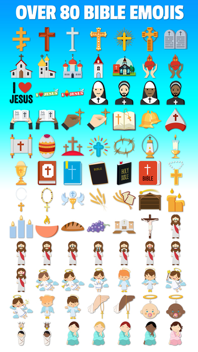 Bibleji Christian Bible Jesus Church Emojis App Download