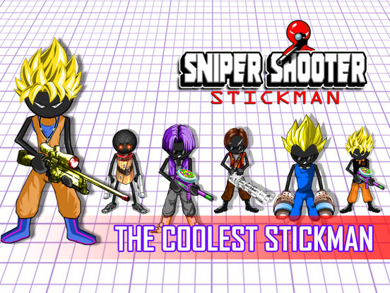 Sniper Shooter Stickman American: Shot Kill Bravo на iPad
