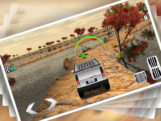 Uphill 4x4 Jeep Driving 3d screenshot 6