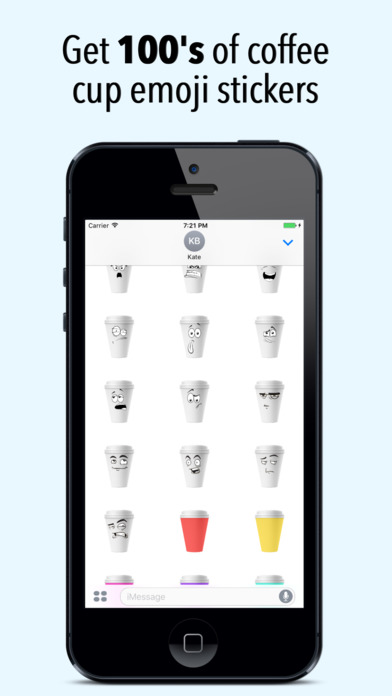 Coffmoji - Coffee emoji stickers screenshot 1