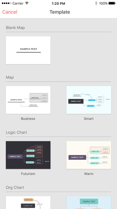 Screenshot #6 for XMind Cloud-Mindmapping and Brainstorming Thoughts