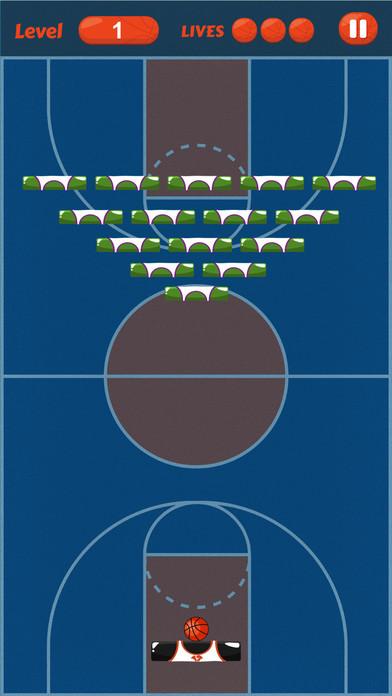 Screenshot 3 篮球撞砖块