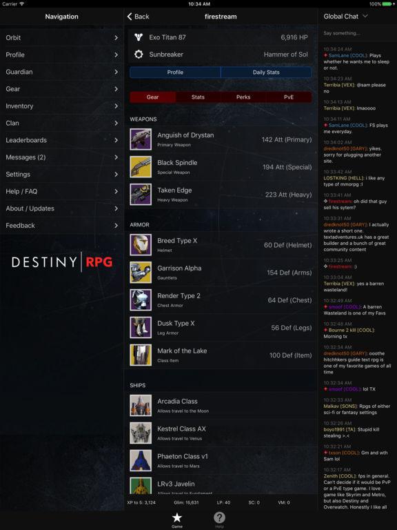 RPG for Destiny screenshot 5