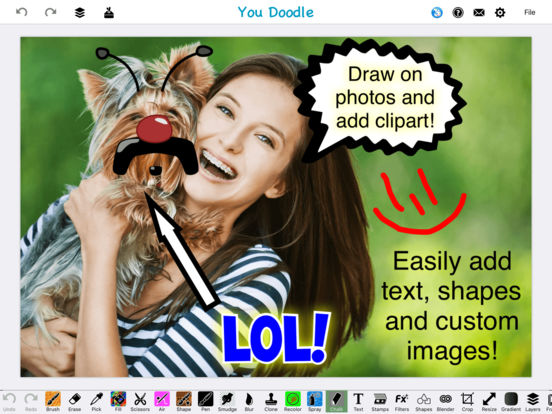 You Doodle Pro - Dozens of powerful tools for you! Screenshots