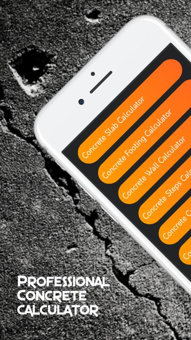 Concrete Slab Calculator : Concrete calculator handyman calculations app download