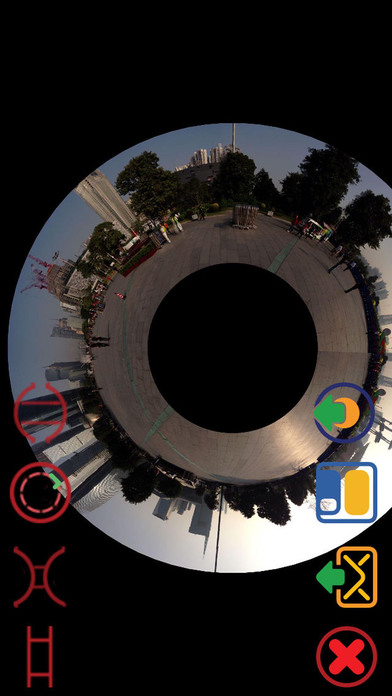 Panorama 360 Camera Screenshots