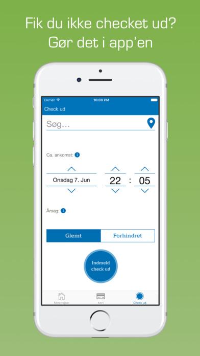 Rejsekort med Det Blå Punkt screenshot 3