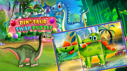 Dinosaur swap puzzle screenshot 5