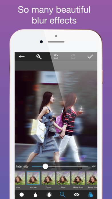 Focus Blur Background Editor With Bokeh Effect On The