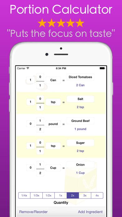 App Shopper Sous Chef Kitchen Timer Calculator