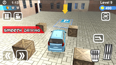 Super Car Parking Adventure Pro screenshot 2