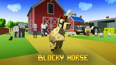Blocky Horse Simulator Full screenshot 1