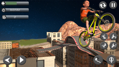 Rooftop Baby Bicycle Stunts screenshot 4