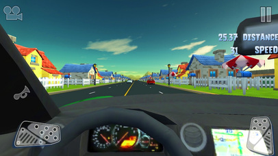 3D Storm Car Racer Street Highway Racing screenshot 4