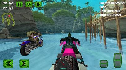 Water Surfing Bike Race screenshot 5