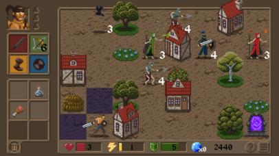 Rogue Knight: Infested Lands screenshot 1