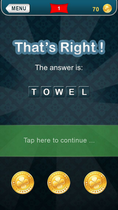 Screenshots of What am I? - riddles for iPhone