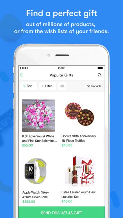 GiftsApp: Send Gifts & Flowers via Social Apps screenshot