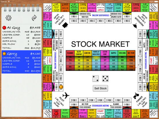 Stock Market Board Game on the App Store