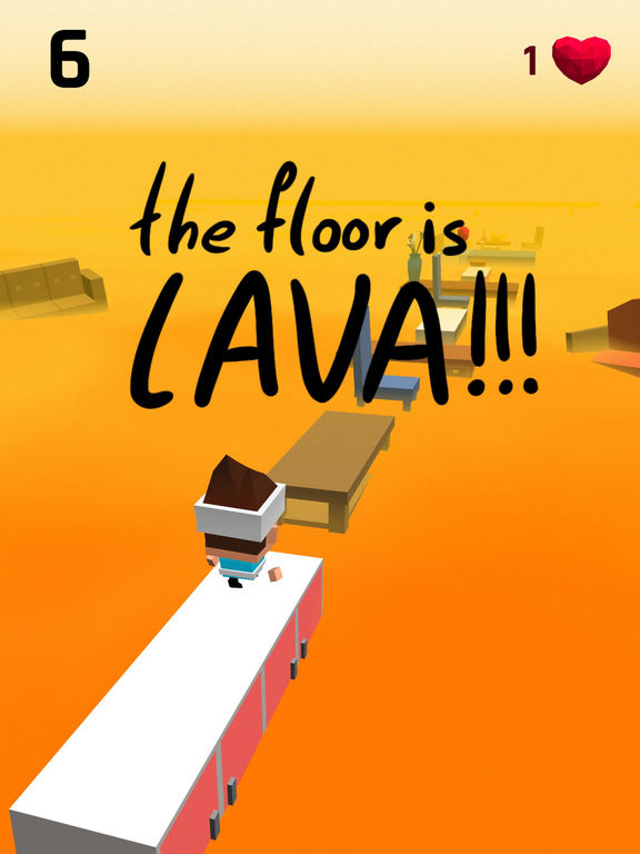 Image of The Floor Is Lava for iPad