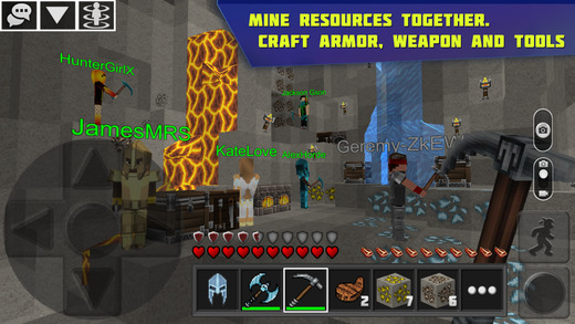 Planet of Cubes Survival Games Multiplayer Screenshots