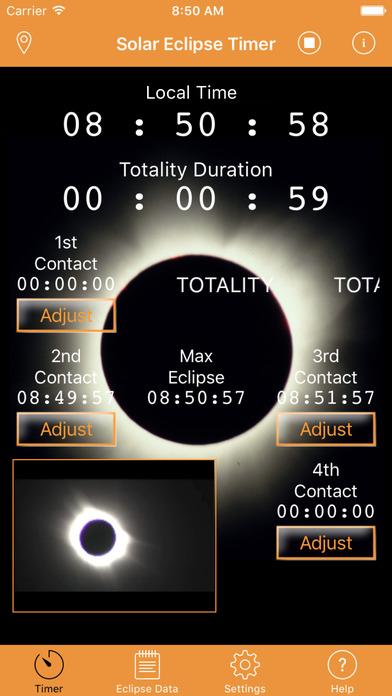 Solar Eclipse Timer screenshot 5