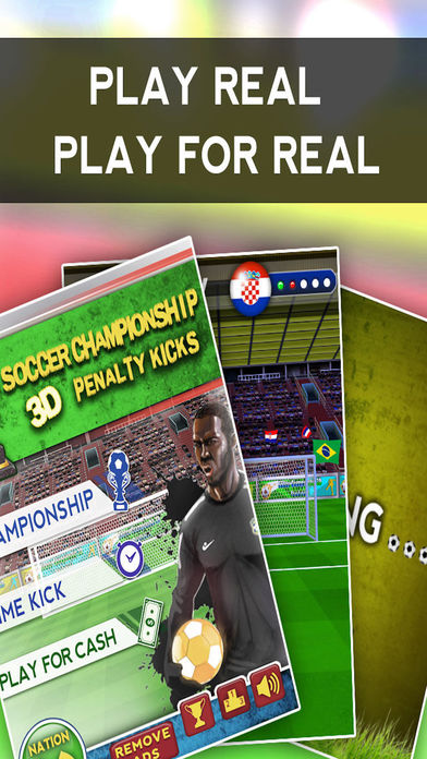 Soccer Championship 3D - Penalty Kicks Screenshot