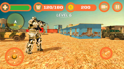 Superhero WAR: Army Counter Terrorist Attack screenshot 2