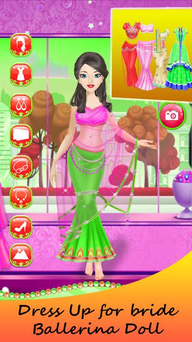 Princess Bride Ballerina Dress Up Girl screenshot 5