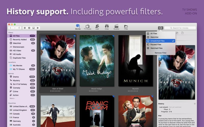 Movie Explorer for Mac 1.8.0 激活版 – 电影资源管理器-爱情守望者
