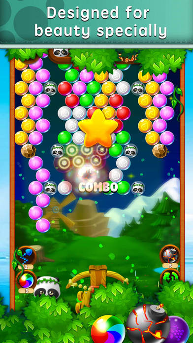 Candy Panda Shooting screenshot 1