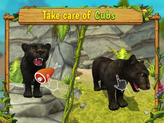 Panther Family Sim - Wild Animal Jungle Simulatorscreeshot 3